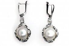 Auskarai su kultivuotais perlais A1774350900