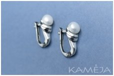 Earrings with cultivated freshwater pearl A2512350450