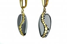 Rhodium & Gold plated Earrings A3236800570