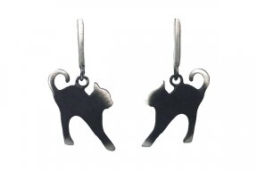 "Earrings ""Cats"""