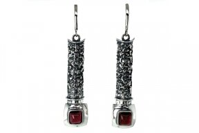 Exclusive Garnet Earrings