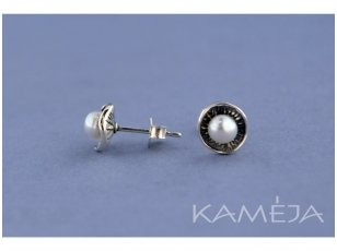 Earrings with cultivated freshwater pearl A2230400170