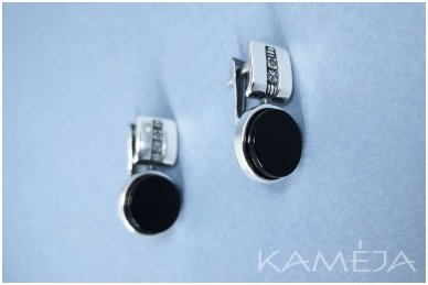 Earrings with black onyx A3142350470 2