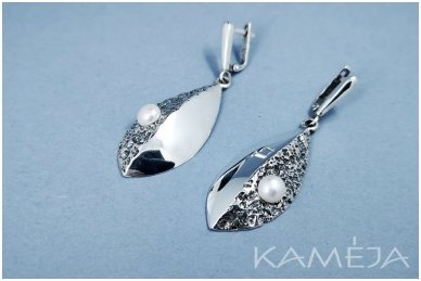 Auskarai su kultivuotais perlais A1674300970