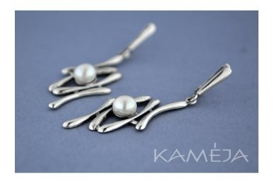 Auskarai su kultivuotais perlais A1056300720 2