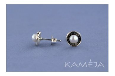 Auskarai su kultivuotais perlais A2230400170