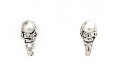 Auskarai su kultivuotais perlais A2512350450 2