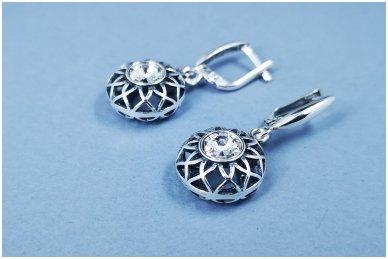 Auskarai su Swarovski kristalais A2654350600 2