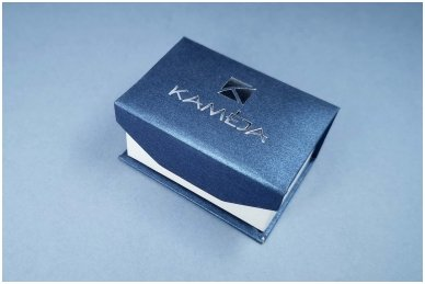 Dėžutė auskarams, vestuviniams žiedams, sąsagoms