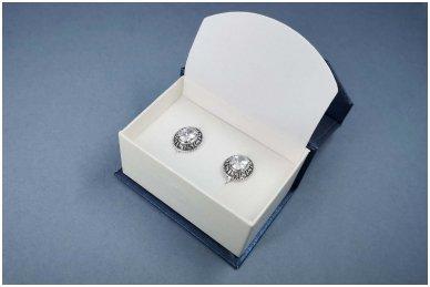 Dėžutė auskarams, vestuviniams žiedams, sąsagoms 2