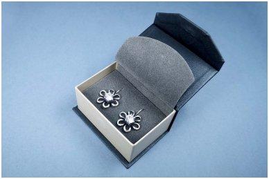 Dėžutė auskarams, vestuviniams žiedams, sąsagoms 5