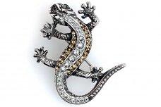 Brooch with Swarovski crystal SA168800730