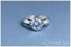 Sterling silver ring with Cubic Zirconia Z1835350430