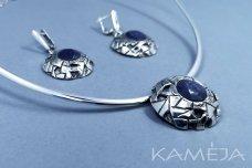 Corundum Sterling Silver Jewellery Set