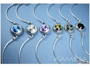 Silver bracelet with Swarovski crystal AP349400710