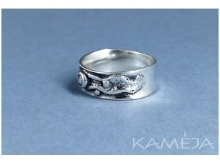Sterling silver ring with Cubic Zirconia Z1840350520
