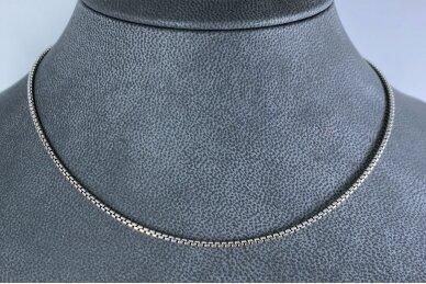 Sidabrinė tamsinto sidabro grandinėlė 2