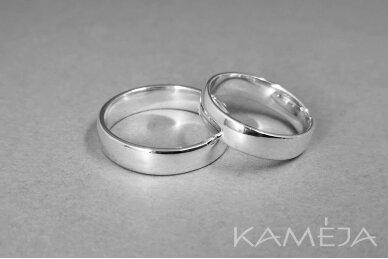 Sidabrinis žiedas 5,0mm