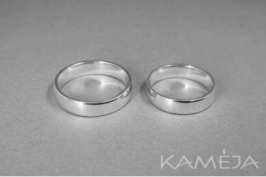 Sidabrinis žiedas 5,0mm 2