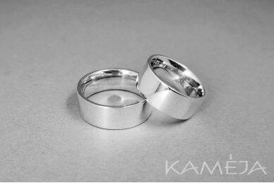 Sidabrinis žiedas 8,0mm