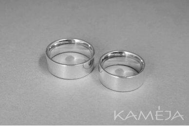 Sidabrinis žiedas 8,0mm 2