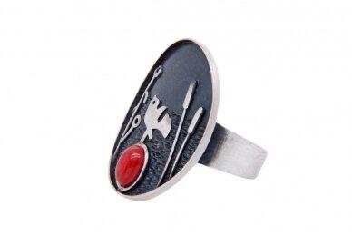 Sidabrinis žiedas Z1832400850 2