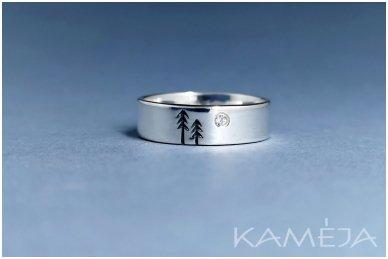 Sidabrinis žiedas su cirkoniu Z1768350430