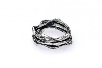 Sidabrinis žiedas Z1992300630 2
