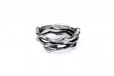 Sidabrinis žiedas Z1992300630