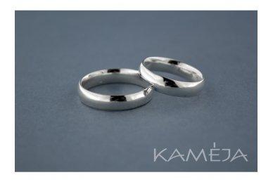 "Sidabrinis žiedas Z200250004 ""comfort fit"", 4,5mm"
