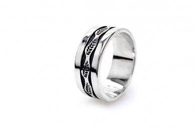 Sidabrinis žiedas Z2032300680