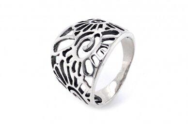 Sidabrinis žiedas Z2057350420 2
