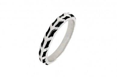 Sidabrinis žiedas Z2086350330