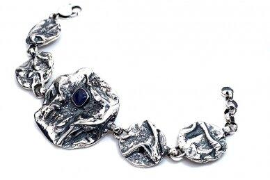 Lapis lazuli Sterling Silver Jewellery Set