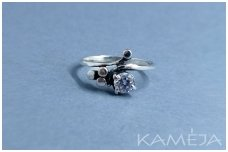 Ring with Cubic Zirconia Z0530350290