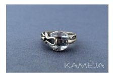 Ring with Cubic Zirconia Z0793300680