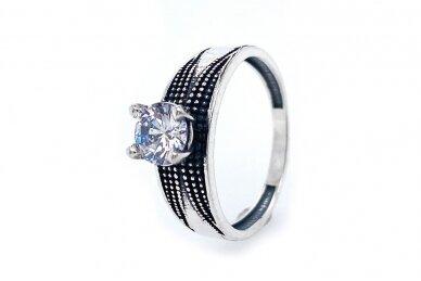 Žiedas su cirkoniu Z2034400270