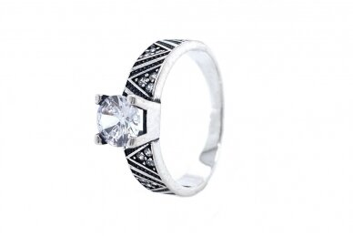 Žiedas su cirkoniu Z2070500300