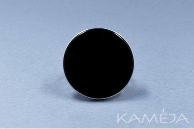 Žiedas su juodu oniksu Z1164301060 3