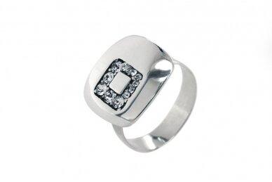 Žiedas su Swarovski kristalais Z2043500580