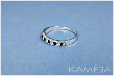 Žiedas su Swarovski kristaliukais Z1422600160 2