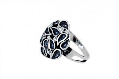 Žiedas su Swarovski krištolu Z2093400340